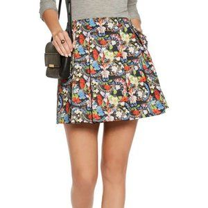 Alice + Olivia Parson Pleated Miniskirt